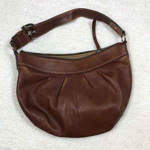 Coach Leather Brown Shoulder Bag